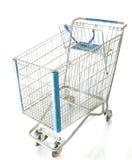 Chrom-Einkaufswagen Lizenzfreie Stockbilder