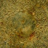 chrom grawerujący antykami crunch Fotografia Royalty Free