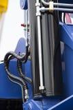 Chrom matrycujący hydrauliczny fotografia royalty free