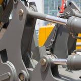 Chrom matrycujący hydrauliczny zdjęcie royalty free