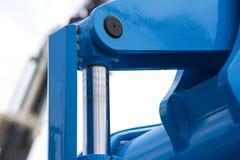 Chrom matrycujący hydrauliczny obrazy royalty free