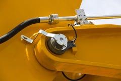 Chrom matrycujący hydrauliczny mechanizm obrazy stock