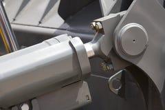 Chrom matrycujący hydrauliczny mechanizm obraz stock