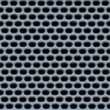 Chrom- oder Stahlineinander greifenbeschaffenheit lizenzfreie abbildung