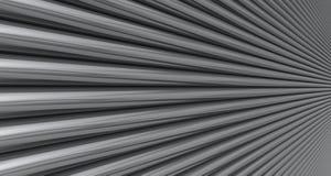 Chrom-Rohre Stockfoto