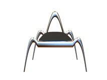 Chrom-Stuhl lizenzfreie abbildung