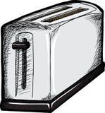 Chrom-Toaster stock abbildung