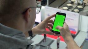Chromaky på telefonskärmen lager videofilmer