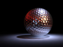 Chromate golf ball Stock Photography