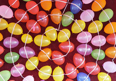 Chromatic balloons. The background of chromatic balloons Royalty Free Stock Photos