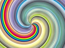 Chromatic whirl. Stock Image