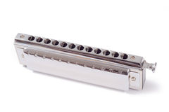 Chromatische harmonika stock fotografie