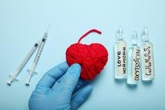 Chromatografia biochemika oxytocin Hormon analiza Eksperymentalny mi?o?ci poj?cie obraz royalty free