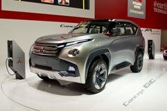 CHROMATOGRAPHIE GAZEUSE PHEV Genève 2014 de concept de Mitsubishi Photos stock