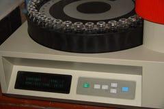Chromatographie-Proben Stockbild