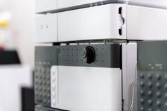 Chromatography equipment in medical laolatory. Stock Photos