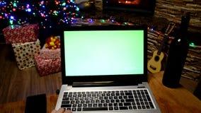 Chrome关键计算机假日企业时间 股票视频