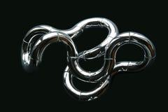 chrome узел стоковая фотография rf