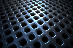 Chrome abstract background Stock Photography