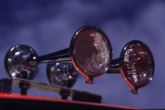 Chrome air horns Royalty Free Stock Photos
