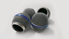 Chrome, Ausrüstung, Interview, Metall, Mikrofon lizenzfreies stockbild