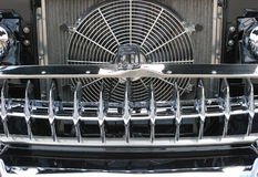 Chrome Automobile Grill Royalty Free Stock Photo