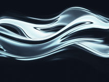Chrome background. Full screen abstract chrome metal as background royalty free illustration