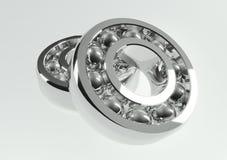 Chrome ball bearing. 3d rendered chrome ball bearing Royalty Free Stock Image