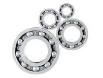 Chrome Ball Bearings Royalty Free Stock Images