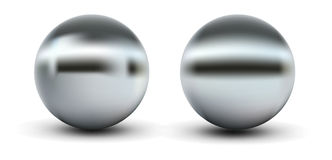 Chrome Balls Stock Photos