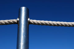 Chrome Bar and Rope Stock Photos