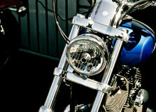 Chrome bike Royalty Free Stock Photos