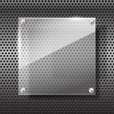 Chrome black and grey background texture 003 Stock Photo