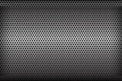 Chrome black and grey background texture vector illustration 001 Stock Photos