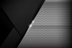 Chrome black and grey background texture vector illustration 017 royalty free illustration