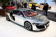 Chrome Car stock image