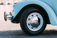 Chrome Car Wheel during Daytime Royalty Free Stock Photos
