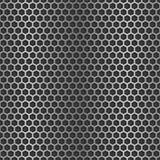 Chrome cell seamless background Stock Photos