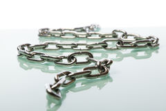 Chrome chain Stock Images