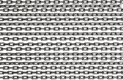Chrome chains Royalty Free Stock Photo