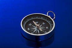 Chrome compass Royalty Free Stock Photo
