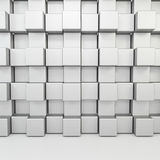 Chrome cube Stock Photos