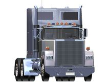 Chrome de camion Photographie stock