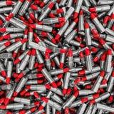 Chrome de fond de rouge à lèvres Image stock