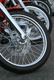 Chrome de moto photographie stock libre de droits