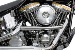 Chrome de moto Photos libres de droits