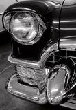 Chrome details of classic car.  Royalty Free Stock Photo
