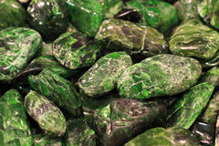 Chrome diopside Stock Photography