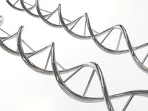 Chrome DNA Stock Photo