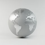 Chrome Earth Royalty Free Stock Images